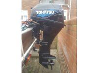 TOHATSU 20HP FOUR STROKE OUTBOARD LONG SHAFT 2011
