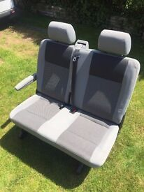 VW Transporter Folding Rear Double Seat With Arm Rest