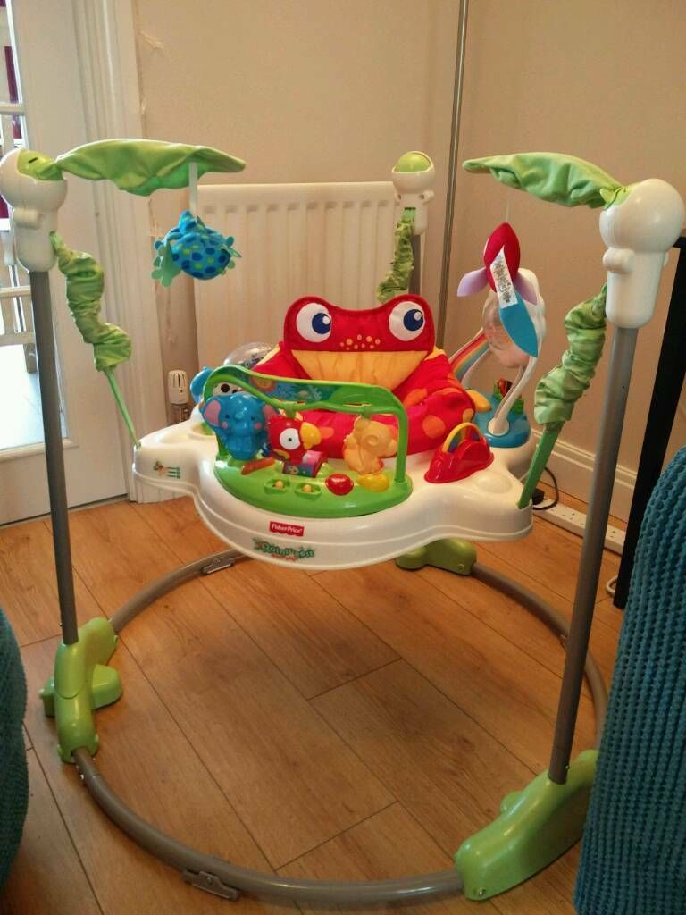65e4faa52 Fisher Price Rainforest Jumperoo