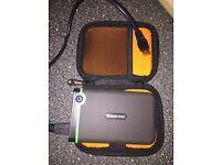 Transcend storenet portable 1TB hard drive