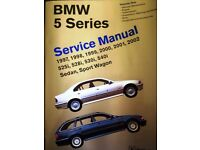 BMW 5 Series Service Manuals (E39) 1997 to 2002 Volumes 1&2 (E39) Paperback by Bentley Publishers