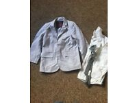 Monsoon age 5 jacket, shirt and tie set