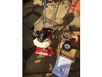 Mantis Honda petrol rotovator rotavator tiller cultivator