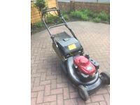 "Honda Hrh536 pro roller lawnmower 21"" cut"