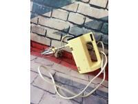 Electric hand mixer retro