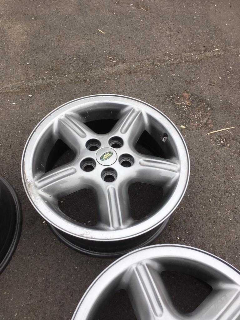 """Land Rover 18"""" alloys"""