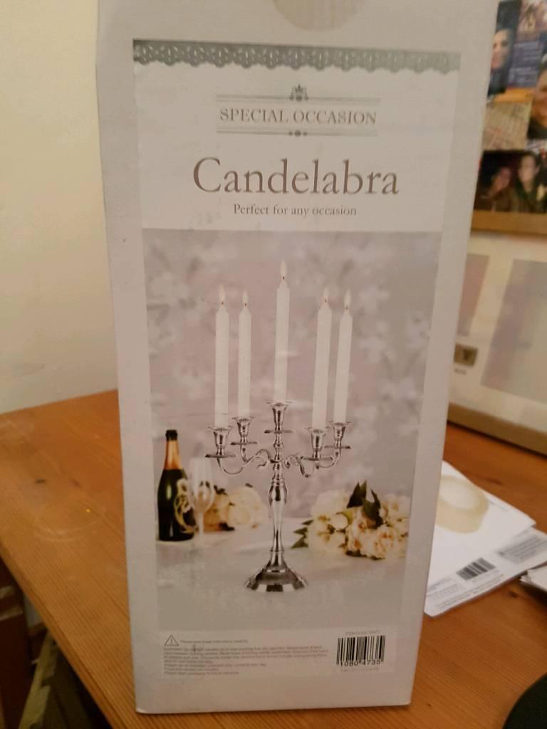 Nine Candelabra's