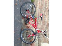 Mens / youth Apollo suspension bike in good condition