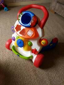 Baby walker push along toy