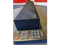Samsung soundbar with base control
