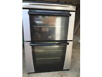Zanussi double 600mm oven