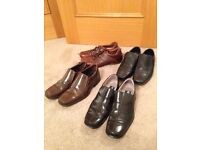 4 pairs of men's shoes in excellent condition. All size 8.