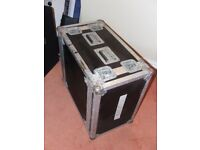 "Flight Case 19"" rack mount 6U shock mount Bulldog case"