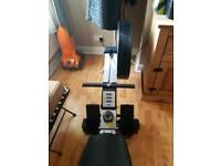 Row machine (air)