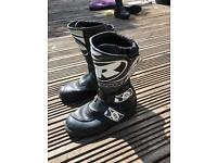 RADZ Trials/Motocross Youth Boots Size 4/5 (Only Used Few Times)