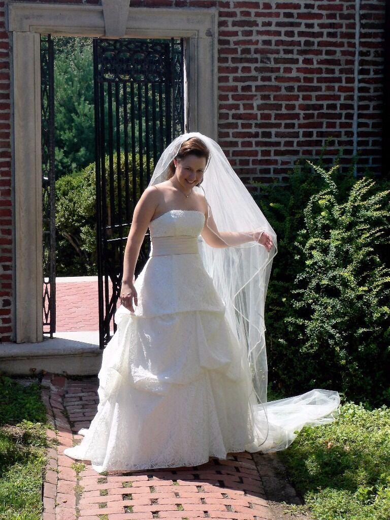Wedding dress edinburgh gumtree popular wedding dress 2017 bhs wedding dress charlotte ivory size 12 in shandon edinburgh ombrellifo Choice Image
