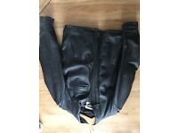 Genuine Triumph leather motorcycle jacket size 46
