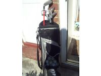 golf irons clubs with bag £5.00