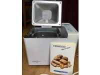 Kenwood Rapid Bake BM 200 Compact Automatic Bread maker and Jam Maker
