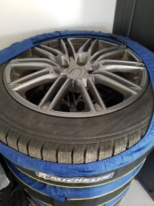 Winter wheels and tires (set of 4)