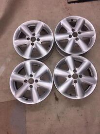 "15"" Nissan Note Alloys / Micra alloy wheels"