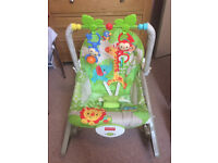 Fisher Price Rain Forest Infant to Toddler Rocker Chair