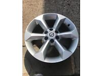 Nissan Navara alloy wheel