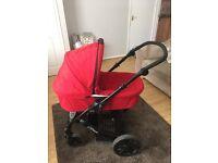 Britax B- Smart pushchair and pram combo