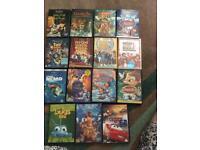 15 Disney DVDs (selling all together)