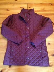 Brand new quilted ladies jacket