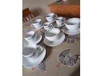 Selection of espresso, coffee & cappuccino cups