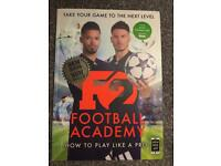 BRAND NEW Football academy f2 how to play like a pro book