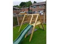 Hand made heavy duty swing slide free delivery and installation