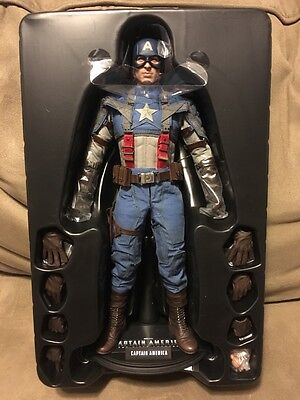 Hot Toys MMS156 Captain America: The First Avenger 1/6 Scale Figure - New