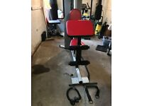 Weider Pro 4000 Multi Gym, with accessories
