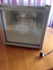 Stella beer fridge