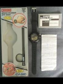 Rare Casio STR-1000 speed trainer watch