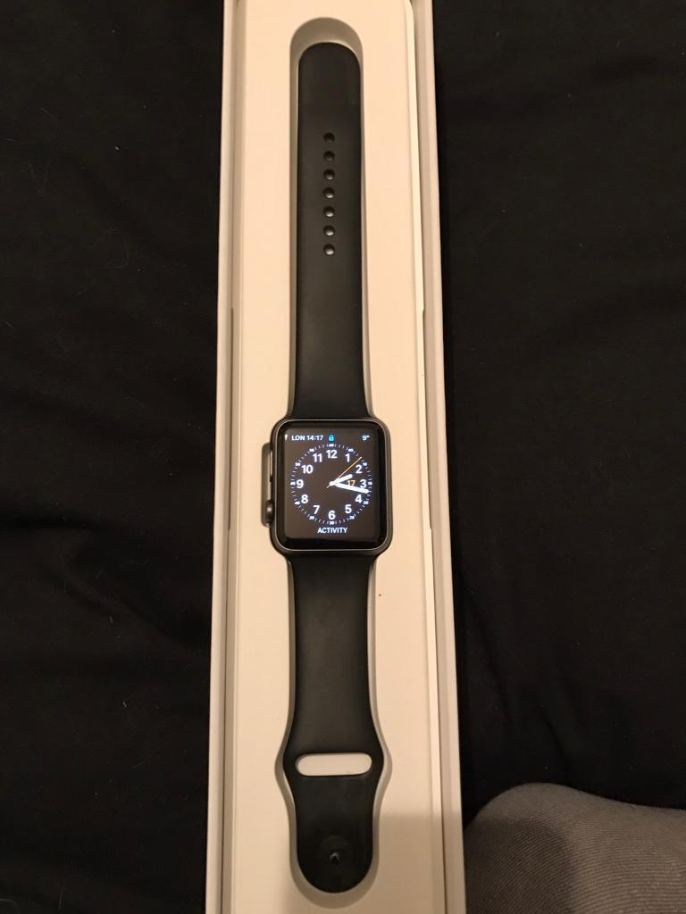 Apple iwatch 42mm sport 1 seriesin Castle Bromwich, West MidlandsGumtree - Apple I watch 42mm sport space grey comes with box charger and manuals excellent condition no scratches. £160 text me