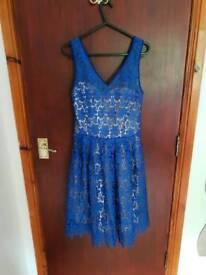 Blue dress Quiz size 12