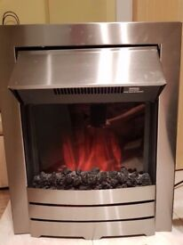 Electric Fireplace in excellent interior condition.