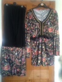70s Fancy Dress (black)