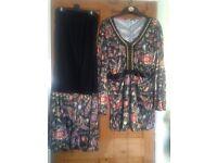 70s Fancy Dress (black)