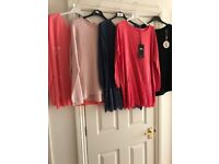 joblot/bundle of ladies brand new jumpers - various designs - all one size