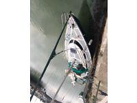 yacht. Sailboat