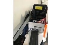 Spear and Jackson 2400w electric chainsaw ex display boxed