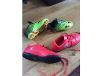 Adidas Football Boots & Astro Trainers size 2