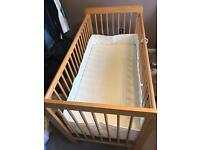 Mothercare cot