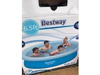 Fast set swimming pool