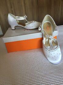Rainbow Shoes - Lemonade size 1 white