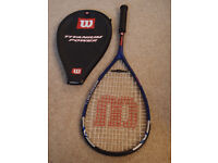 Wilson Ti Power squash raquet